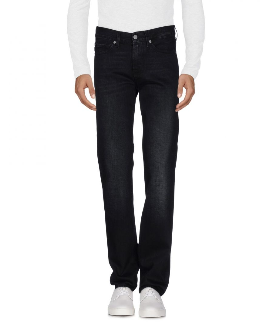 Image for 7 For All Mankind Black Cotton Jeans