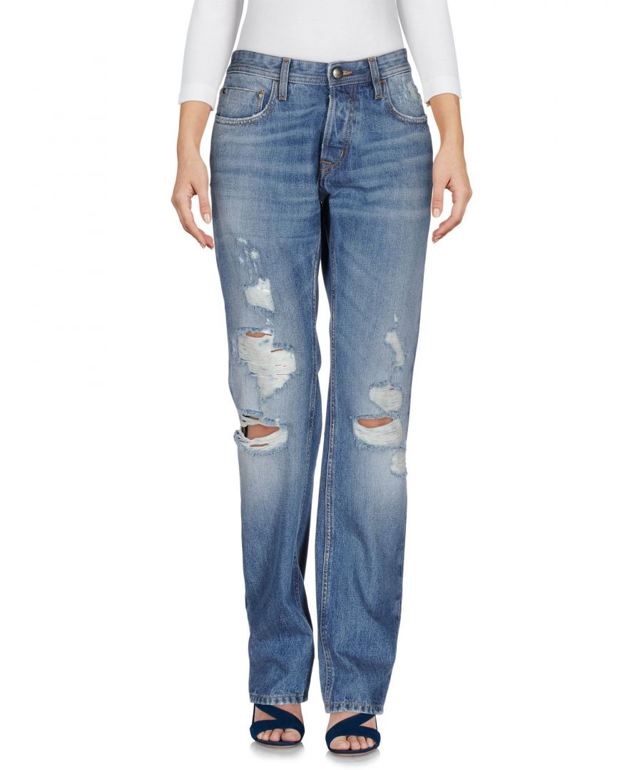Image for Just Cavalli Blue Cotton Jeans