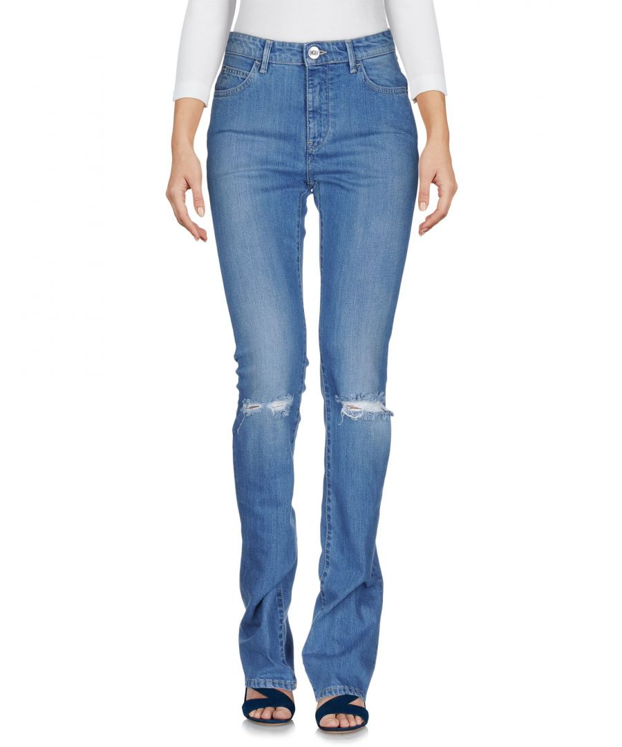 Image for Haikure Blue Organic Cotton Bootcut Jeans