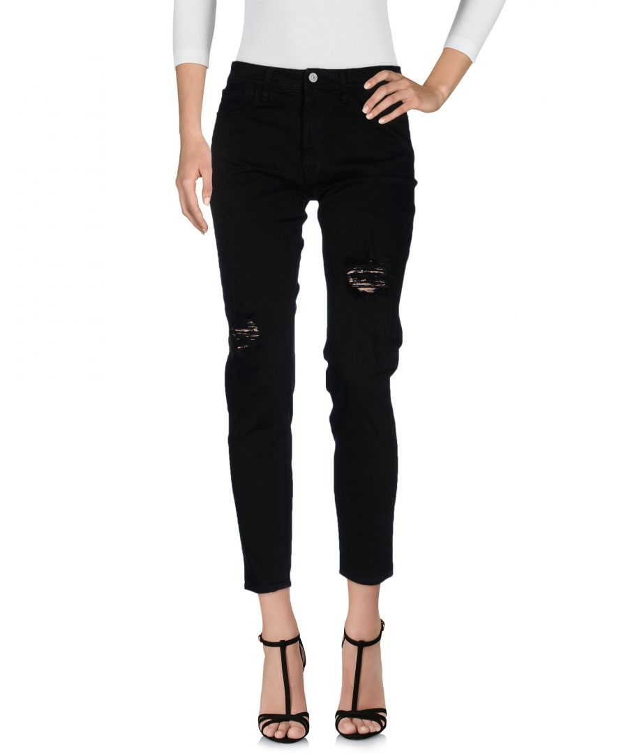 Image for Cycle Black Cotton Jeans
