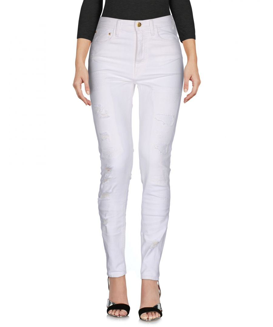 Image for Cycle White Cotton Skinny Jeans