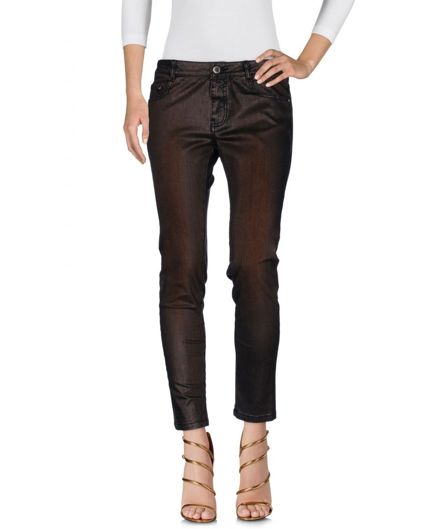 Image for Cristinaeffe Bronze Cotton Jeans