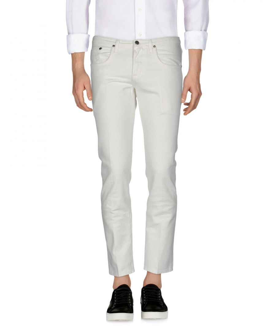 Image for (+) People White Cotton Jeans