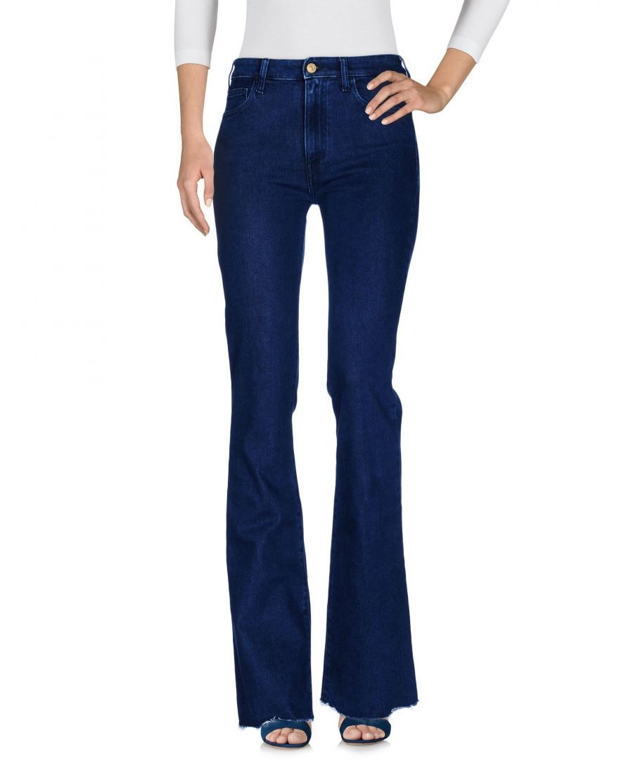Image for Cycle Blue Cotton Flare Jeans