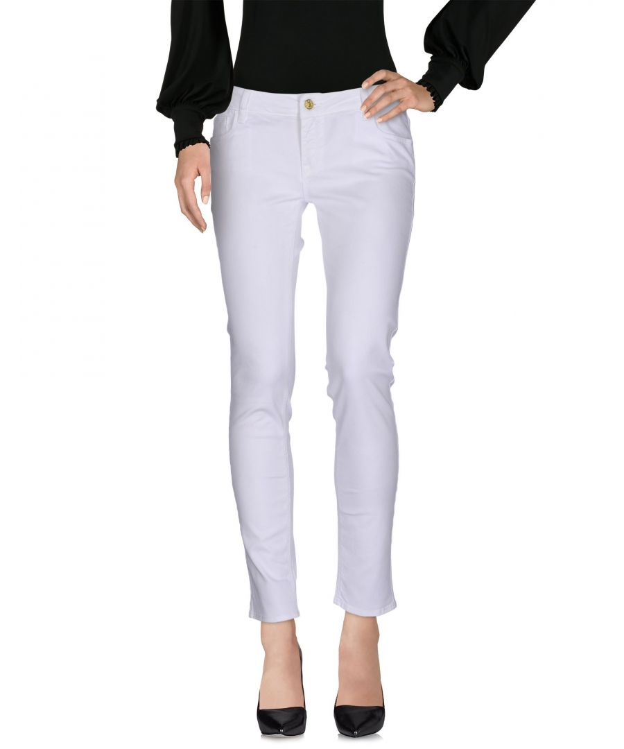 Image for TROUSERS Woman Cycle White Cotton