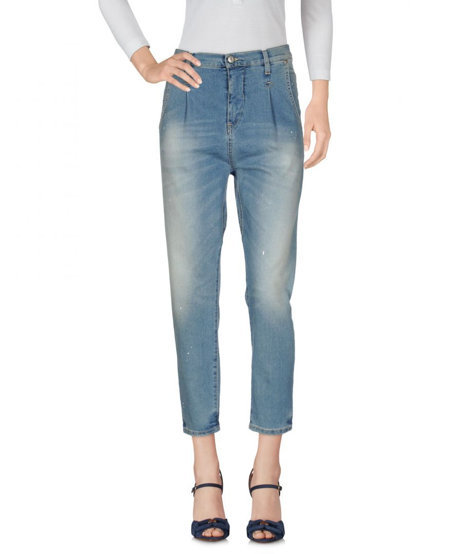Image for Met Jeans Blue Cotton Straight Leg Jeans