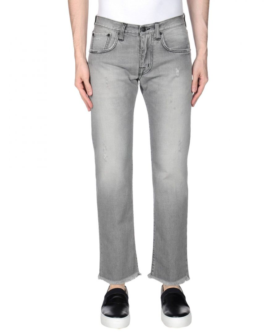 Image for DENIM Man (+) People Grey Cotton