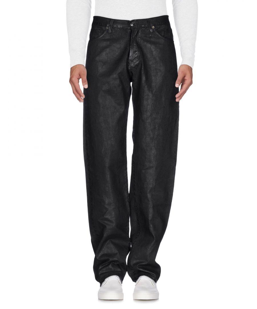 Image for Versace Black Cotton Jeans