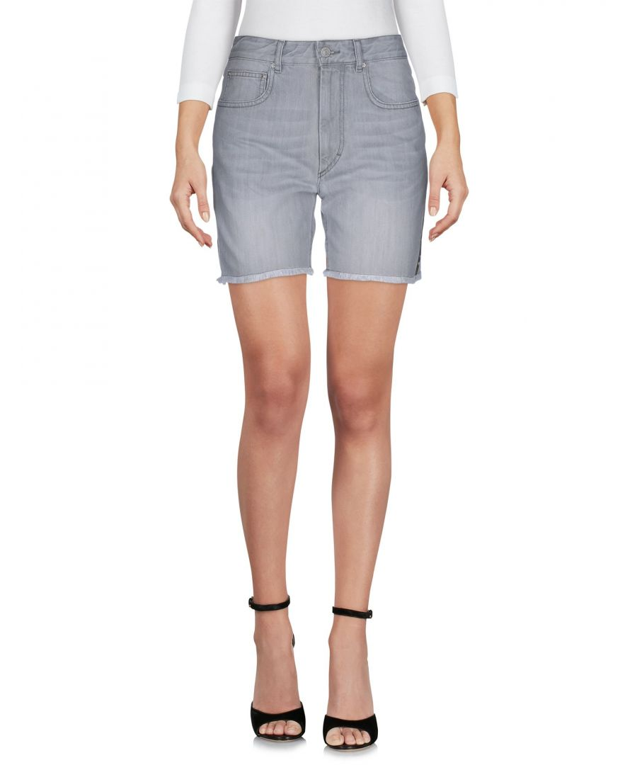 Image for Isabel Marant Etoile Grey Denim Shorts