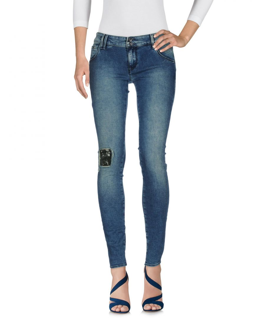 Image for Gas Blue Cotton Skinny Jeans