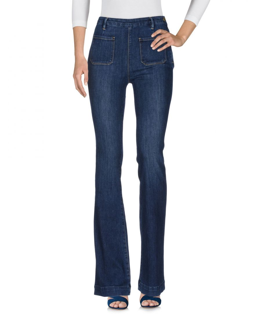 Image for Frame Blue Cotton Flare Jeans