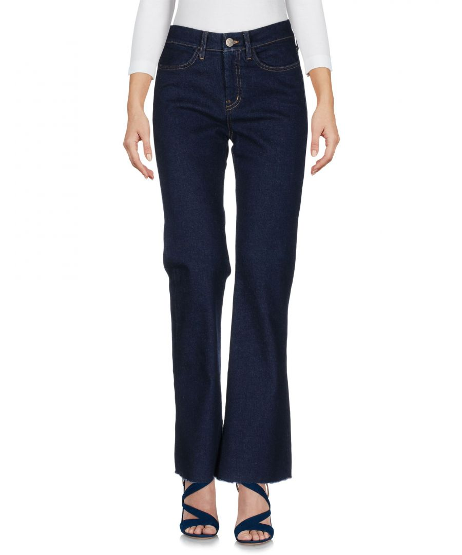 Image for M.I.H Jeans Blue Cotton Flare Jeans