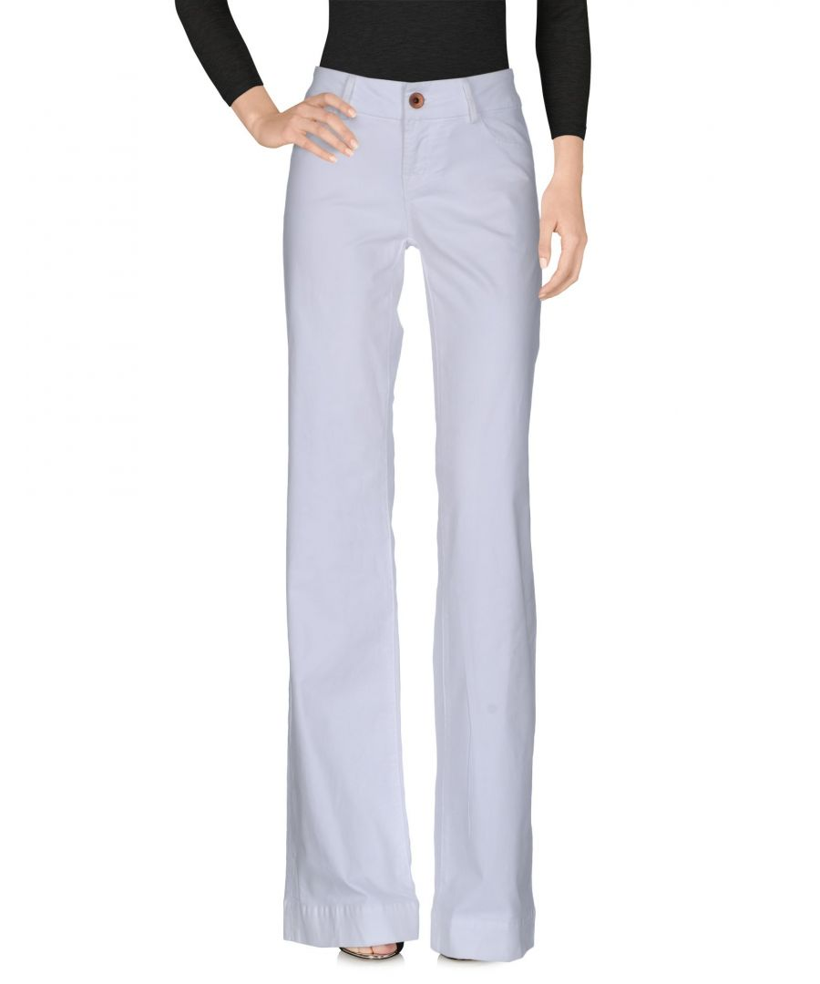 Image for J Brand White Cotton Jeans