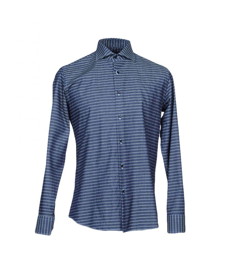 Image for Tru Trussardi Blue Denim Shirt