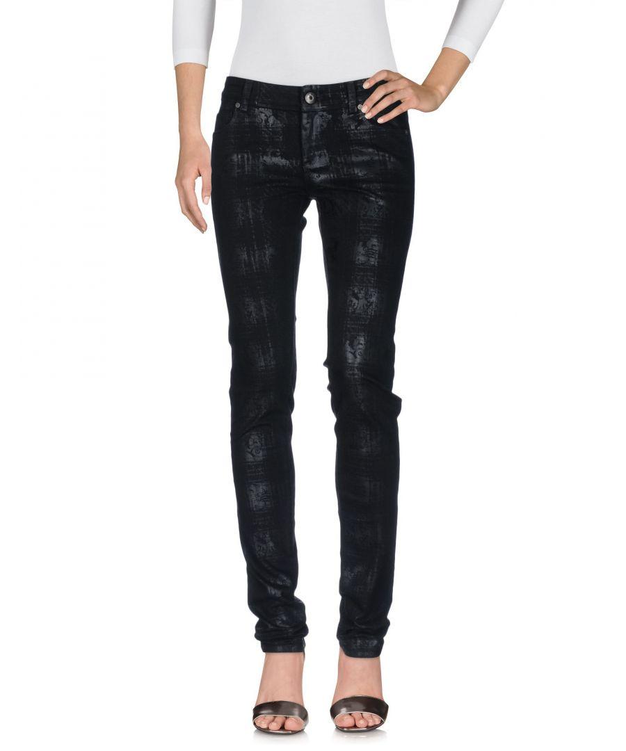 Image for Ermanno Di Ermanno Scervino Black Cotton Skinny Jeans