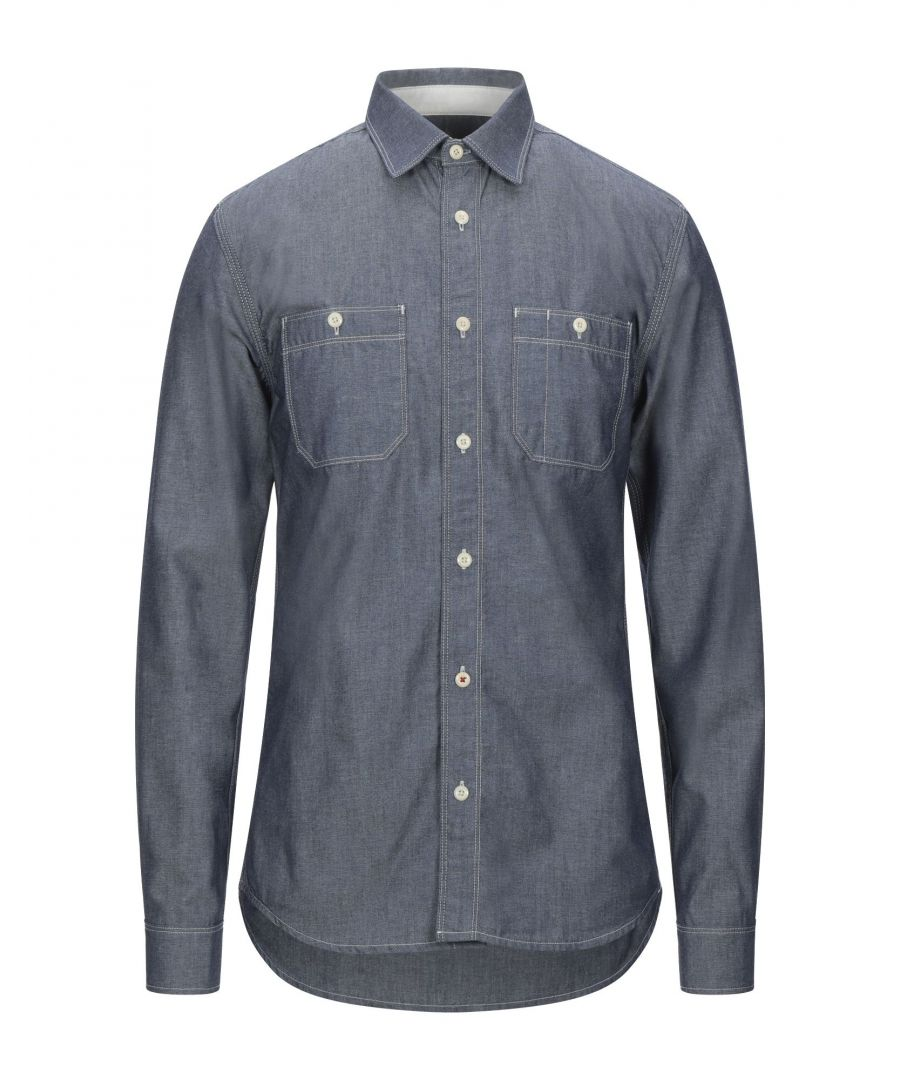 Image for R.D.D. Royal Denim Division By Jack & Jones Blue Denim Shirt