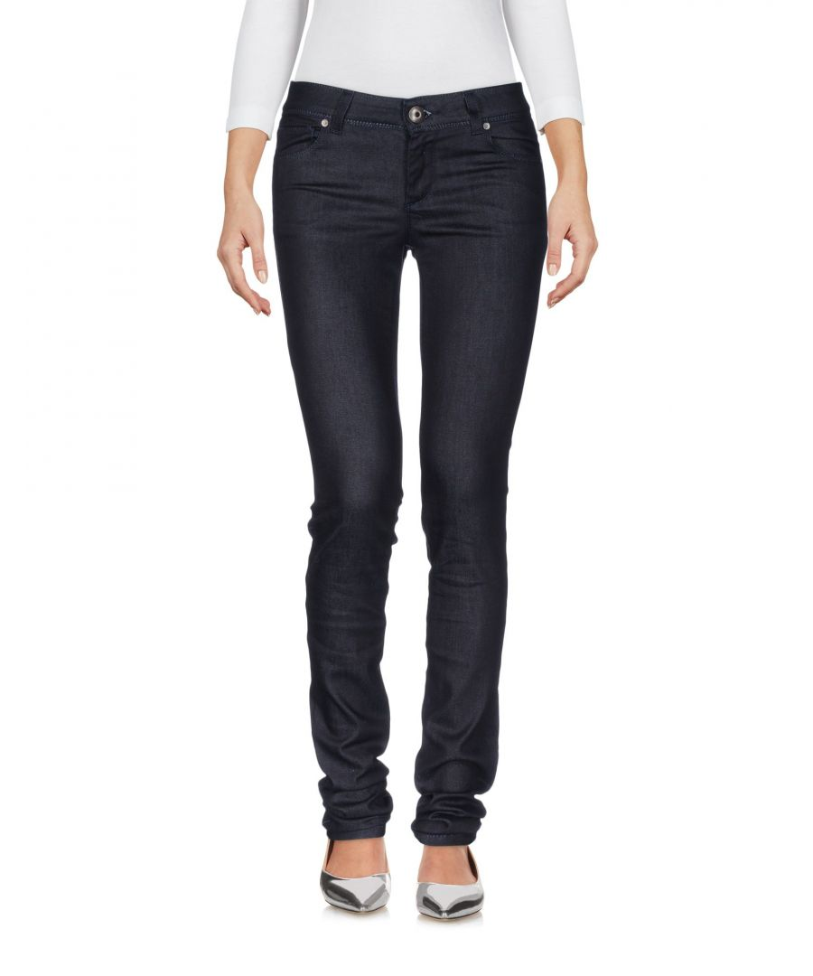 Image for Ermanno Di Ermanno Scervino Blue Cotton Skinny Jeans
