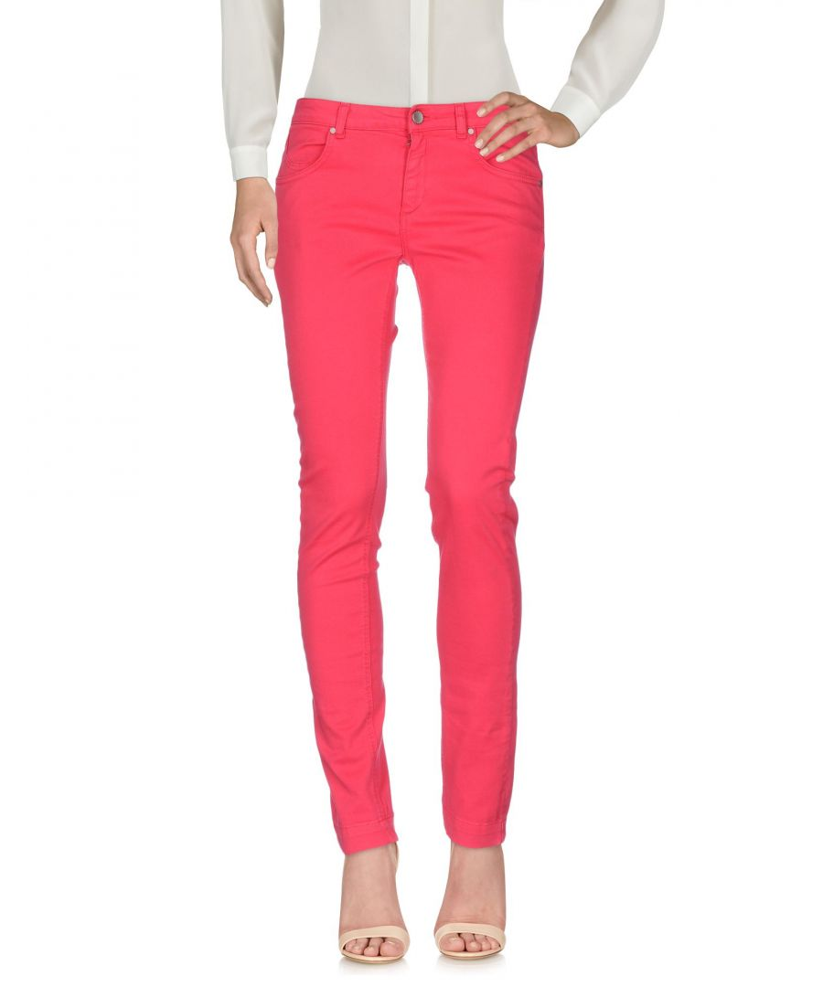 Image for TROUSERS Woman Twinset Fuchsia Cotton