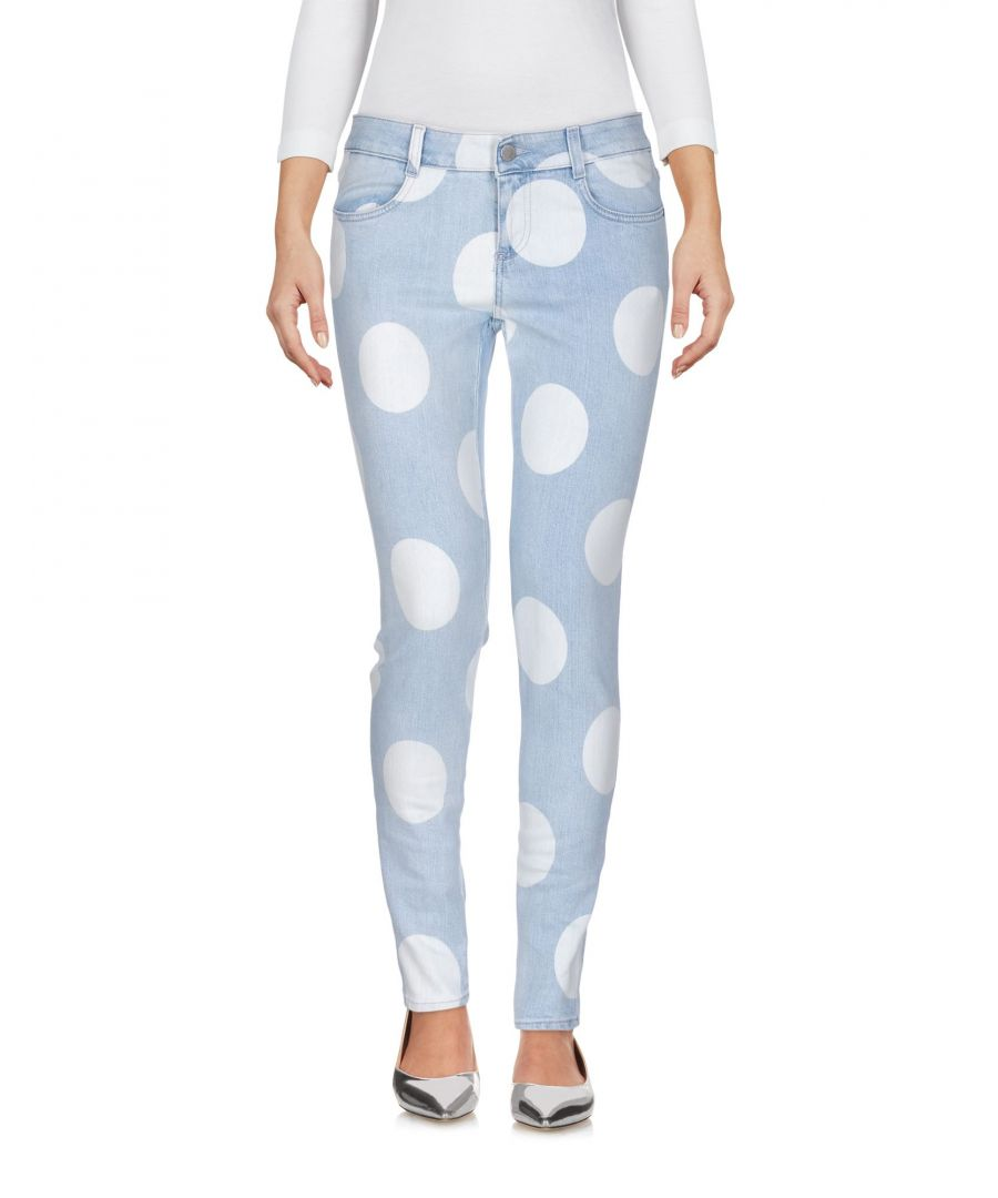 Image for Stella McCartney Blue Cotton Skinny Jeans