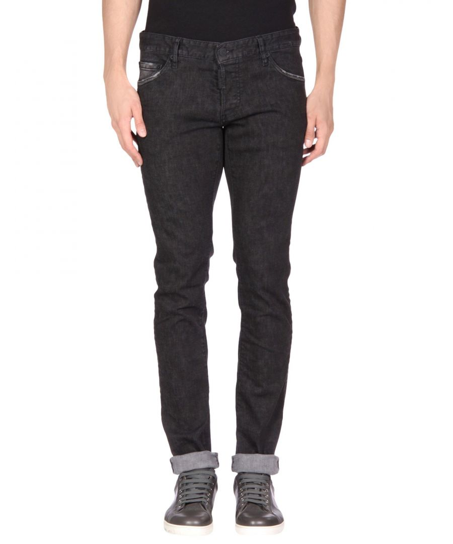 Image for Dsquared2 Black Cotton Jeans