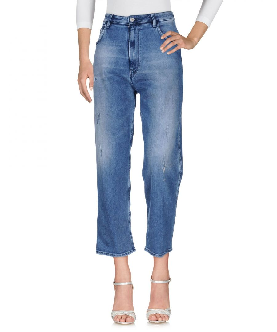 Image for Cycle Women's Denim Trousers Blue Cotton