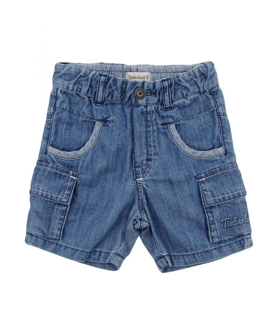 Image for DENIM Timberland Blue Boy Cotton