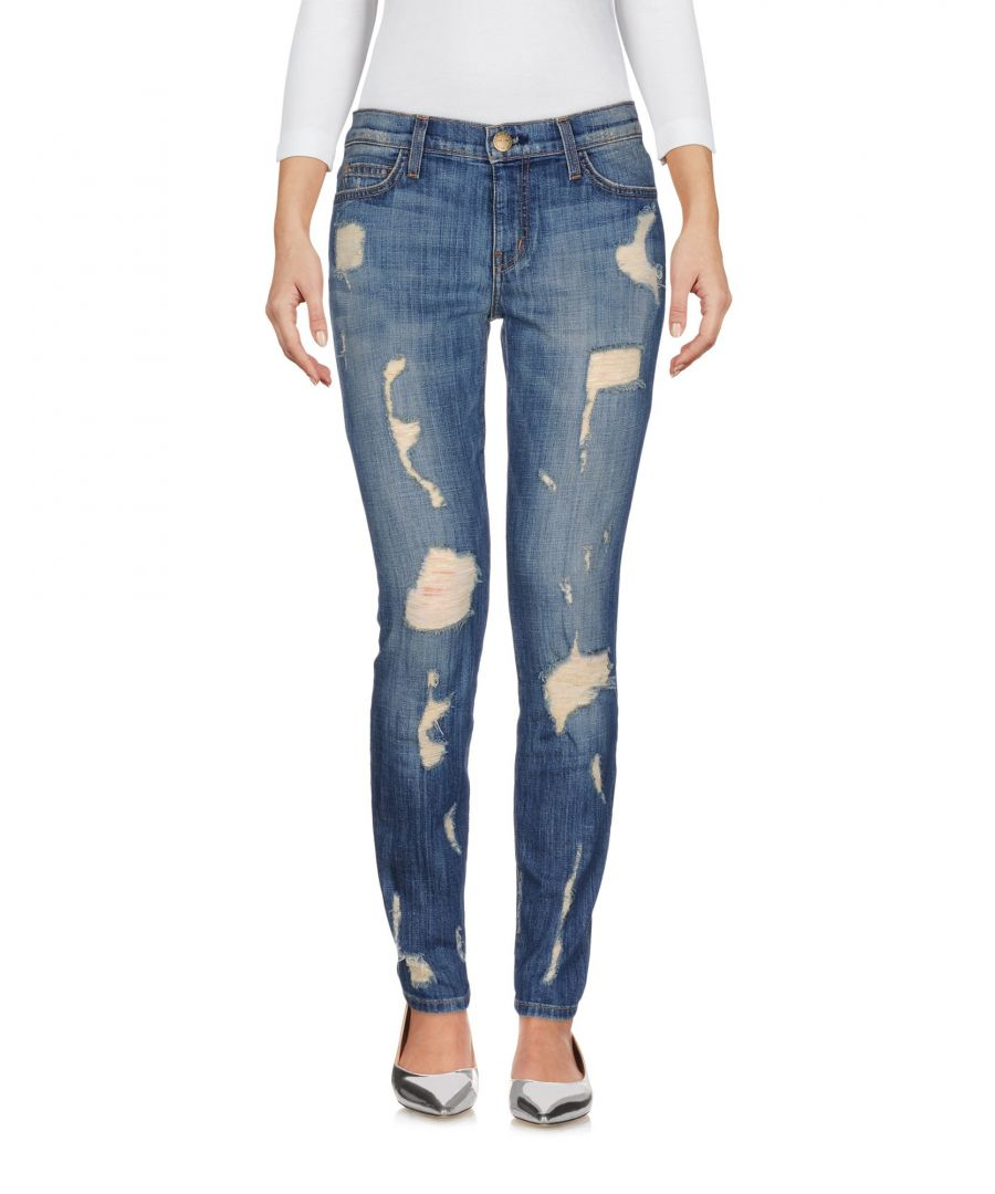 Image for DENIM Current/Elliott Blue Woman Cotton