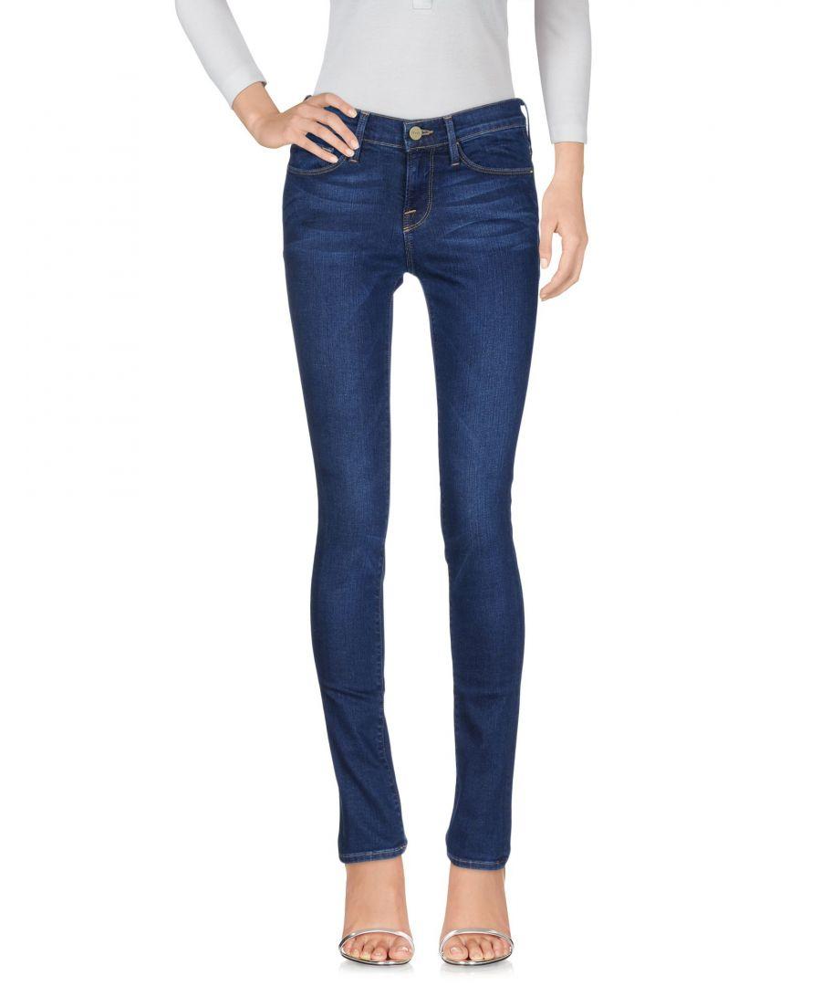 Image for Frame Blue Cotton Slim Fit Jeans