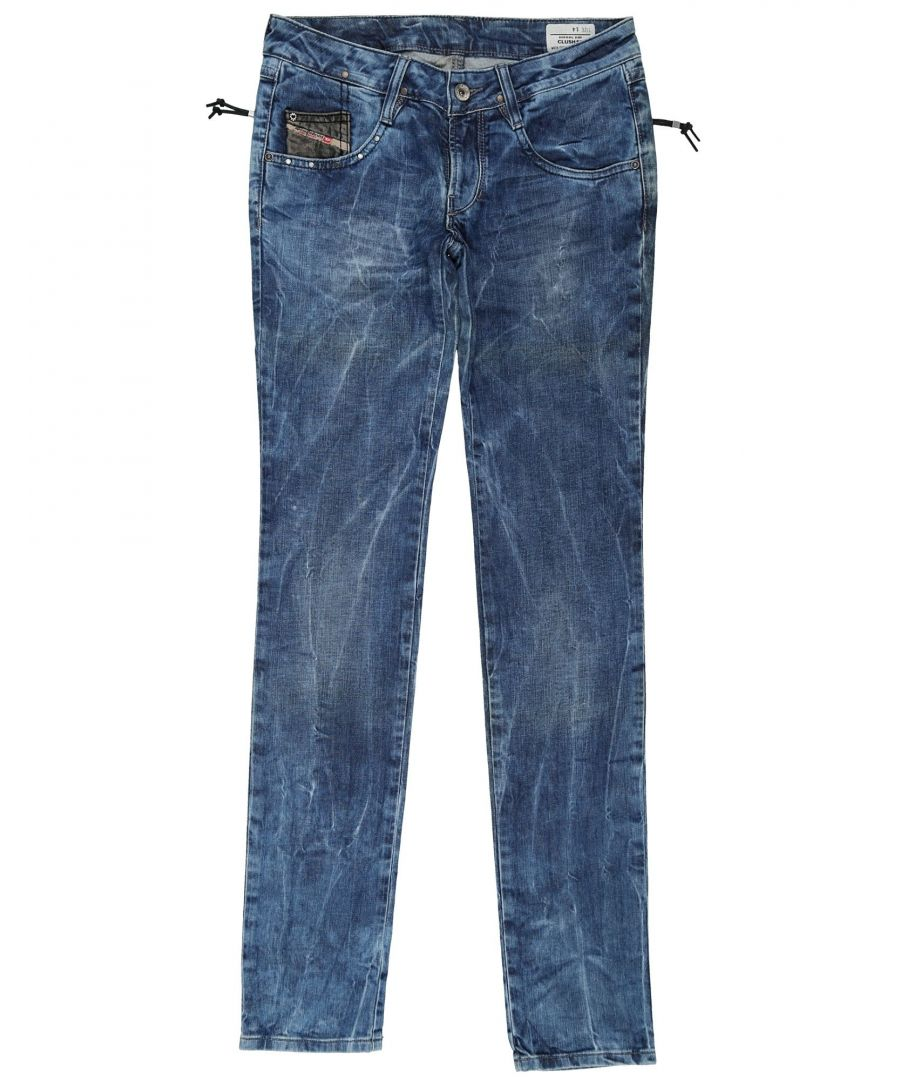 Image for DENIM Diesel Blue Girl Cotton