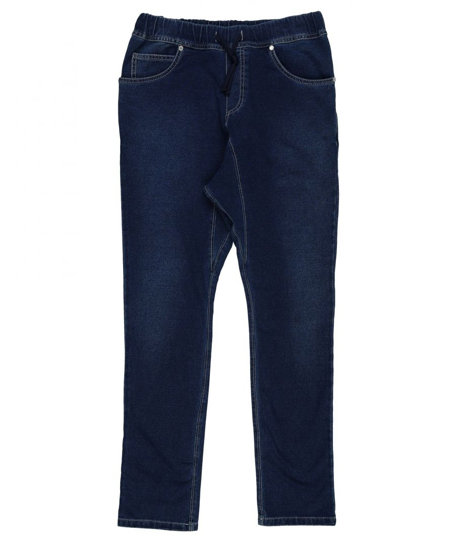 Image for DENIM Bikkembergs Blue Boy Cotton