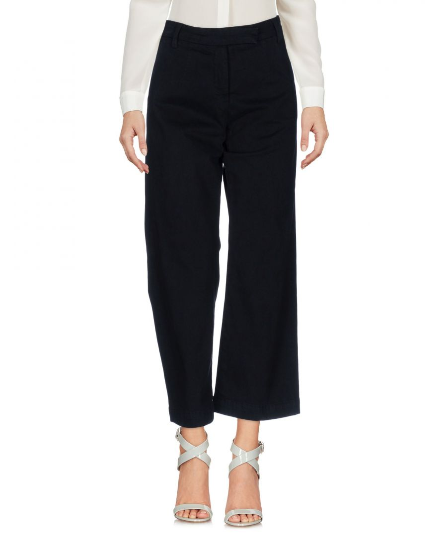 Image for Current/Elliott Black Cotton Casual Trousers