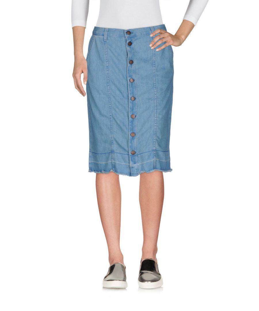 Image for Current/Elliott Blue Denim Skirt