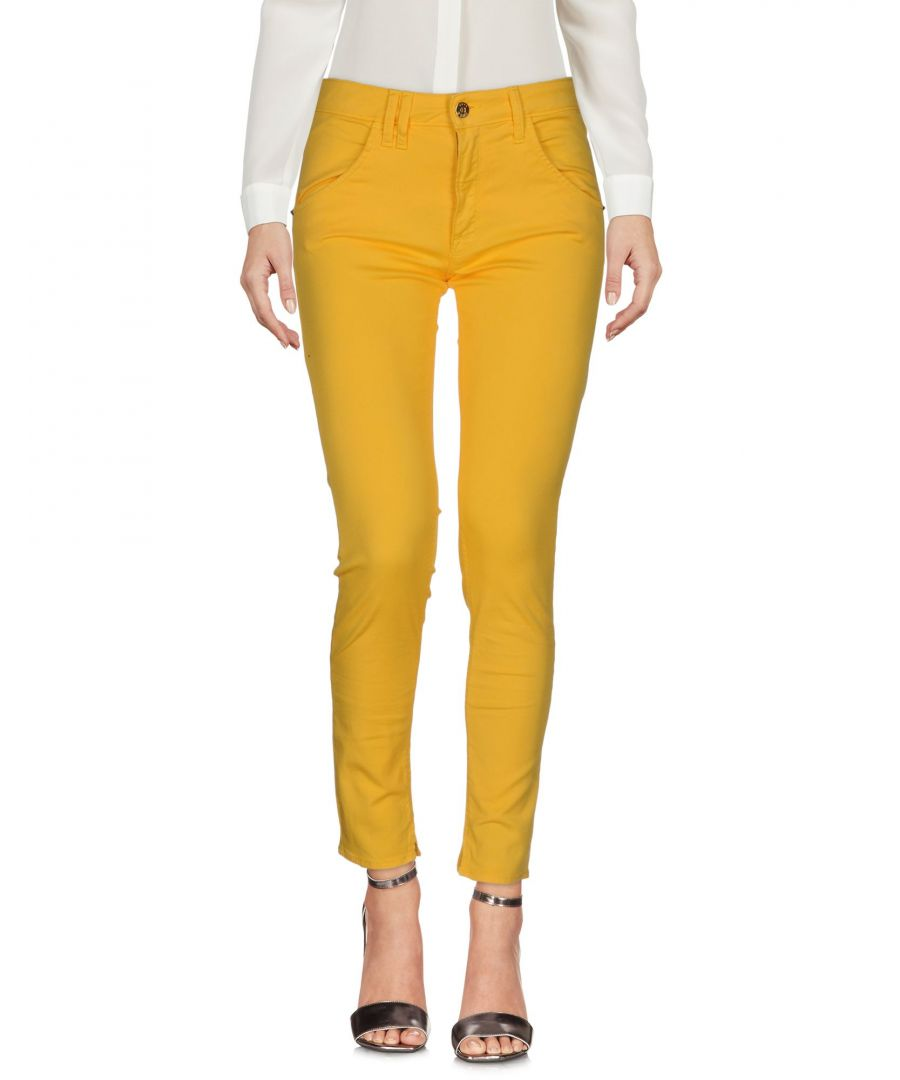 Image for Trousers Women's Cycle Yellow Cotton