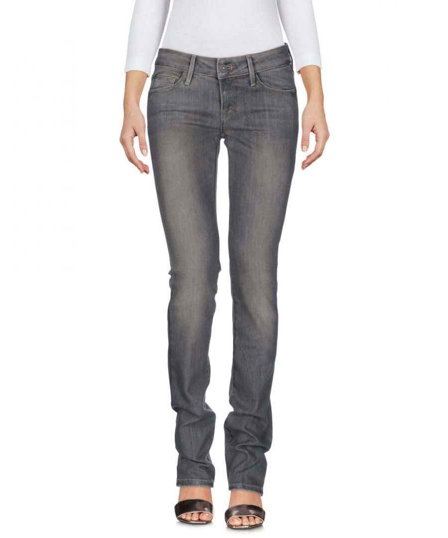 Image for DENIM 7 For All Mankind Grey Woman Cotton