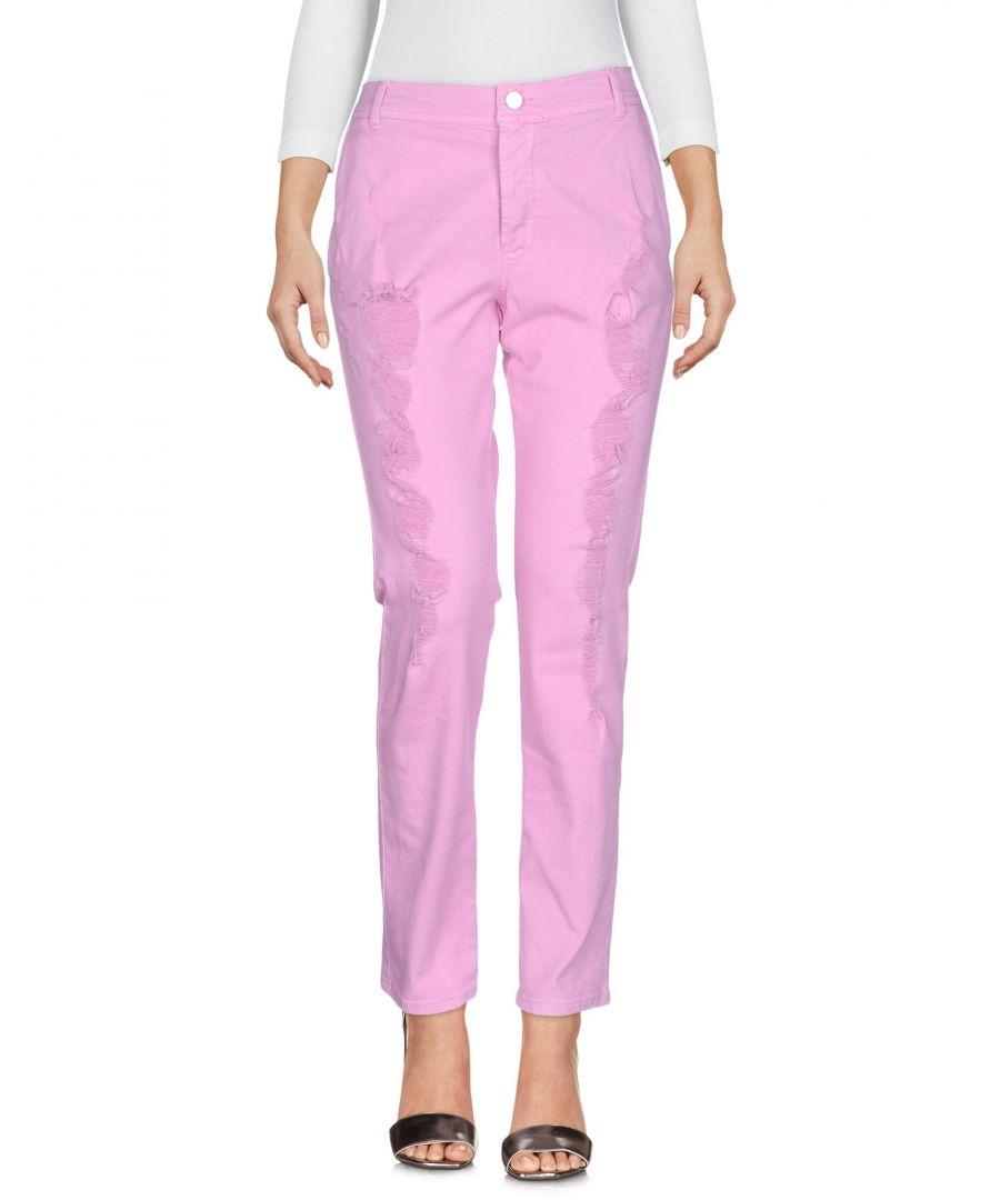 Image for DENIM Iceberg Pink Woman Cotton