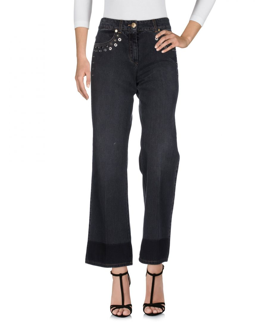 Image for Sonia Rykiel Black Cotton Bootcut Jeans