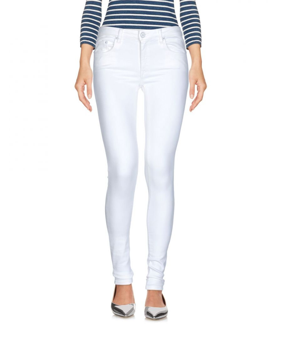 Image for DENIM (+) People White Woman Cotton