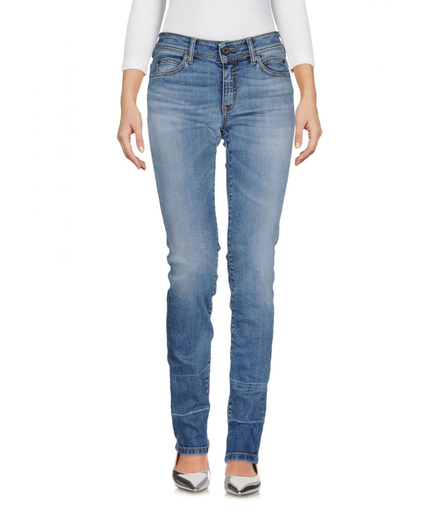 Image for Just Cavalli Blue Cotton Skinny Jeans