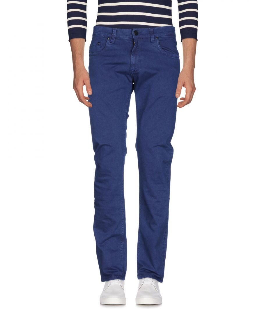Image for DENIM Carrera Dark blue Man Cotton