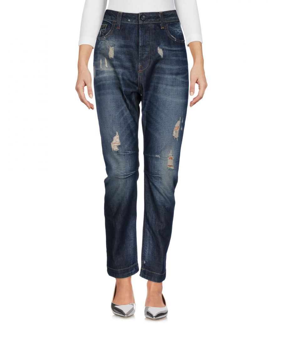 Image for DENIM Twin-Set Jeans Blue Woman Cotton