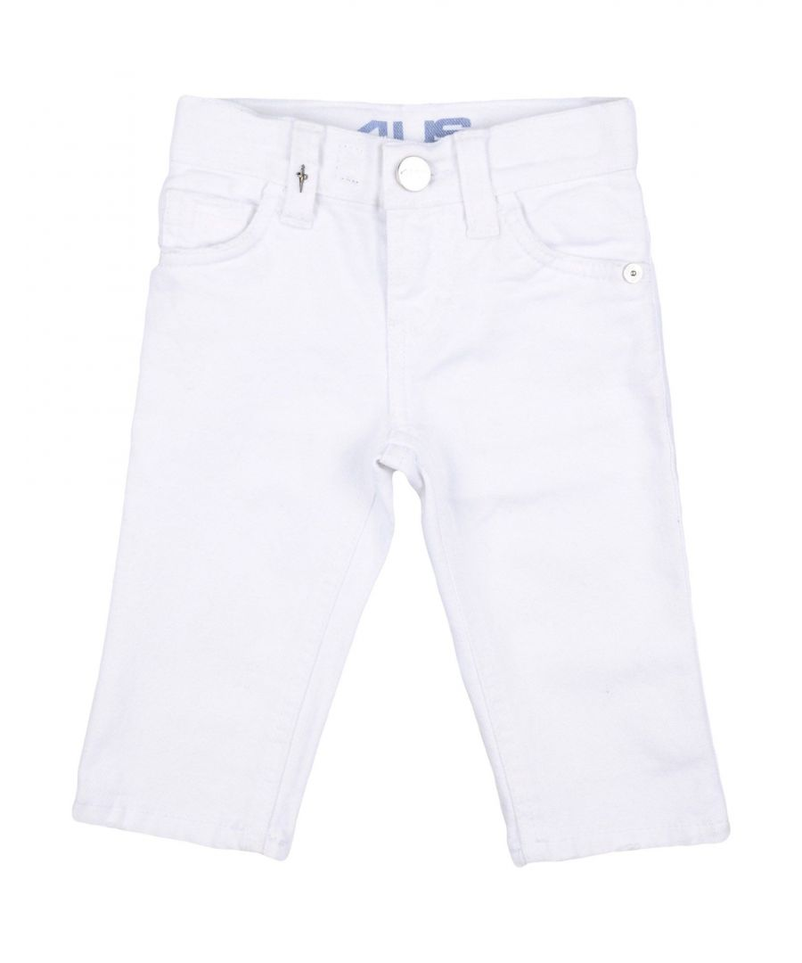 Image for DENIM Cesare Paciotti 4Us White Boy Cotton