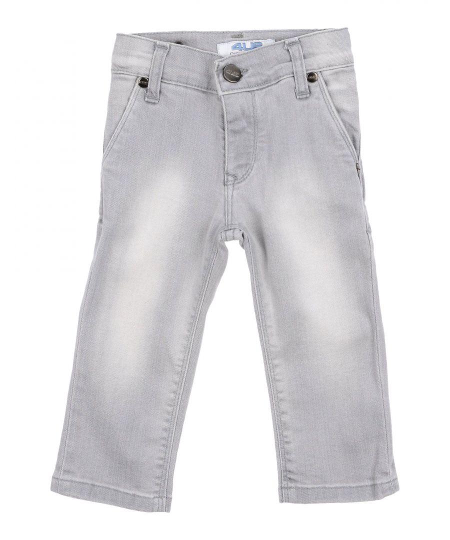Image for DENIM Cesare Paciotti 4Us Grey Boy Cotton