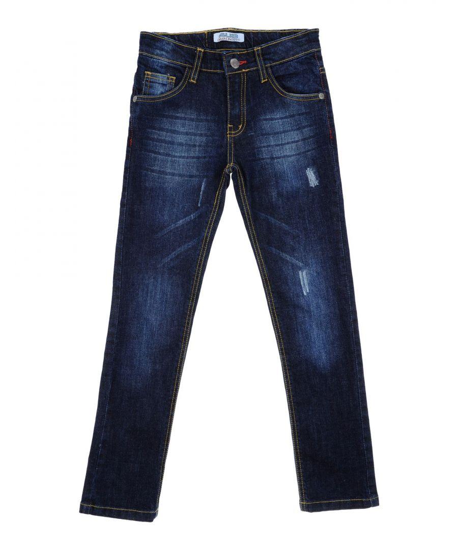 Image for DENIM Cesare Paciotti 4Us Blue Boy Cotton