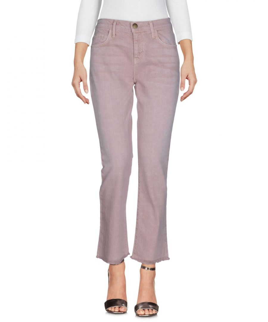 Image for DENIM Current/Elliott Light brown Woman Cotton
