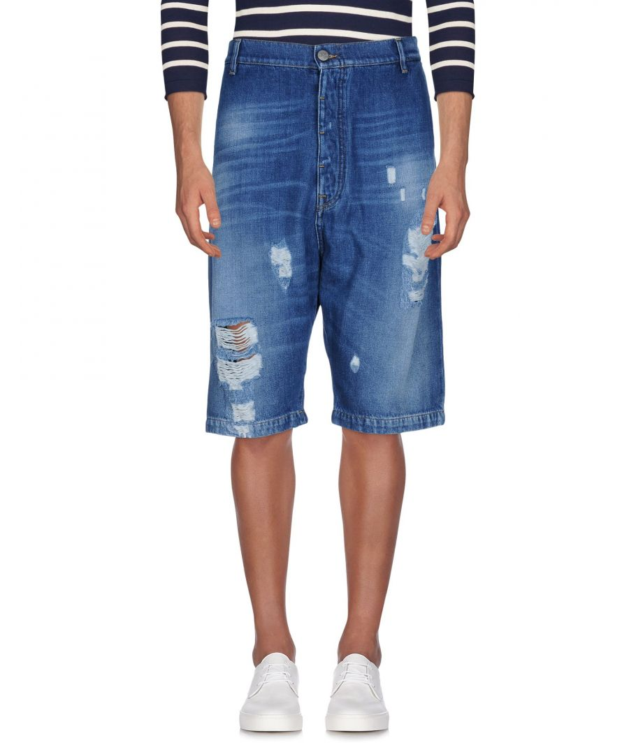 Image for Vivienne Westwood Anglomania Blue Denim Shorts