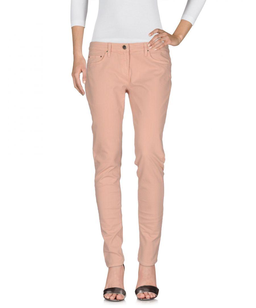 Image for DENIM Elisabetta Franchi Jeans Pale pink Woman Cotton