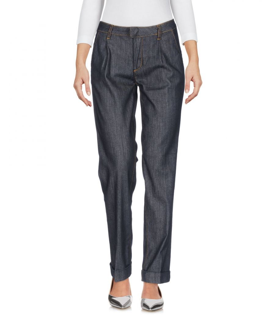 Image for Redvalentino Blue Cotton Straight Leg Jeans