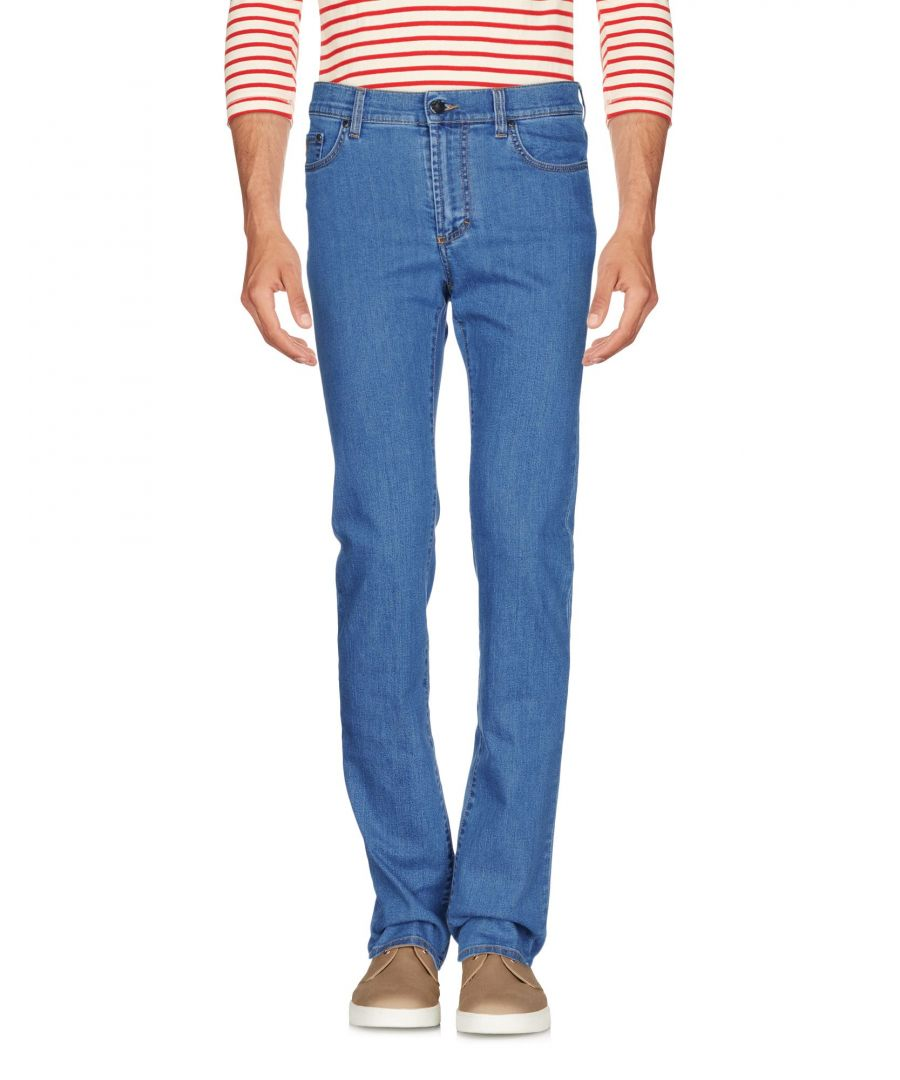 Image for Versace Collection Blue Cotton Jeans
