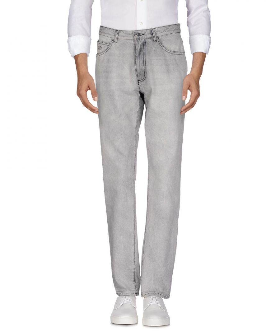 Image for Versace Collection Light Grey Cotton Jeans