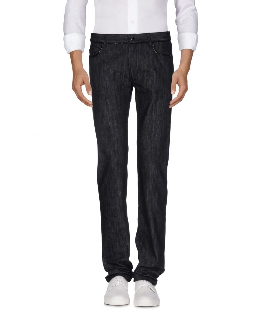 Image for Versace Collection Black Cotton Jeans